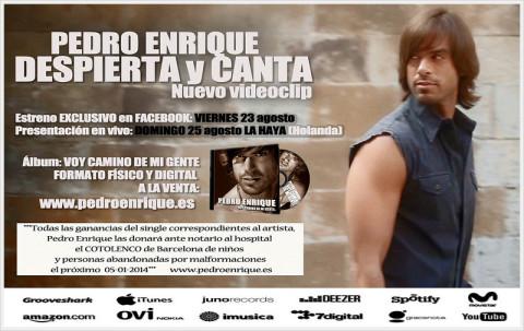 Imagen de Pedro Enrique nuevo videoclip DESPIERTA Y CANTA