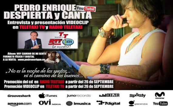 Imagen de Pedro Enrique en Teletaxi TV
