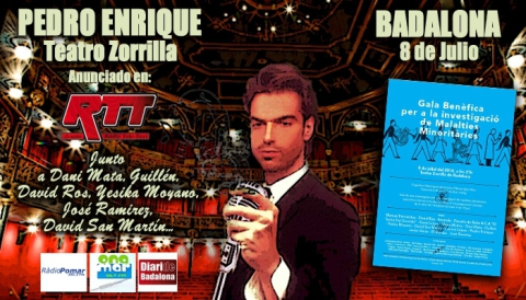 Pedro Enrique-Teatro Zorrilla Badalona